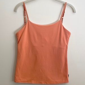 3/$20 Prana Pink Tank Top with Built in Bra